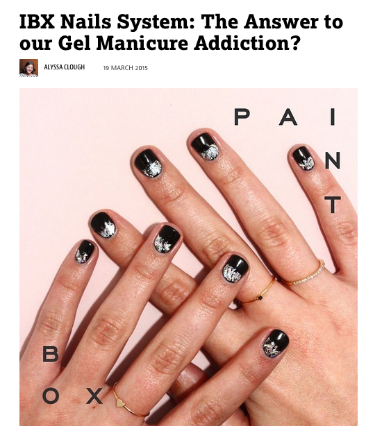 IBX Nails System: The Answer to our Gel Manicure Addiction? - Famous ...